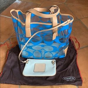 Authentic Coach Limited Edition tote
